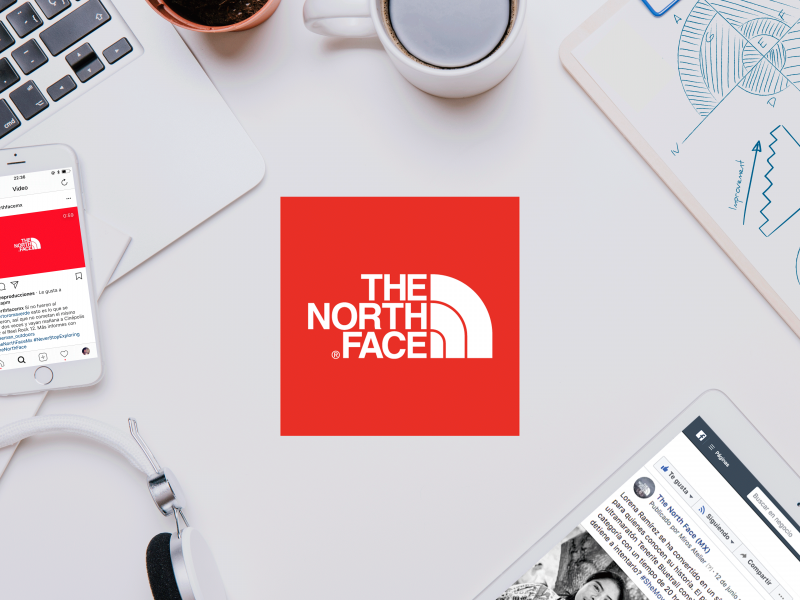 Cliente: The North Face México | Cielo Rojo