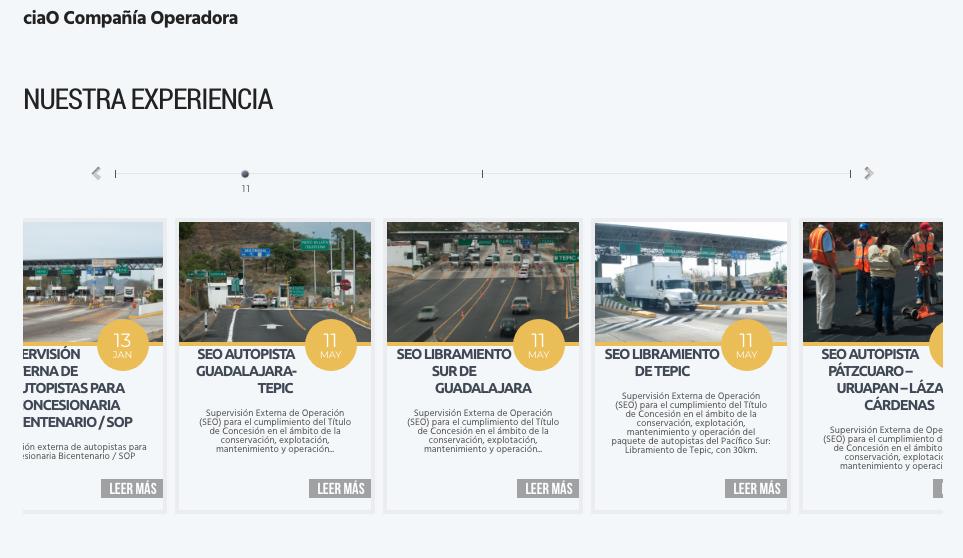 Proyecto: Sitio Web   Cliente: ciaO   Cielo Rojo Comunicación Digital